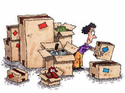 empaquetar cajas mudanzas